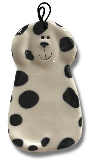 "2""x4"" Dog Ornament: Dalmatian"
