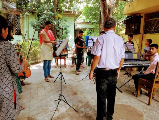 Bengal Music Academy performance