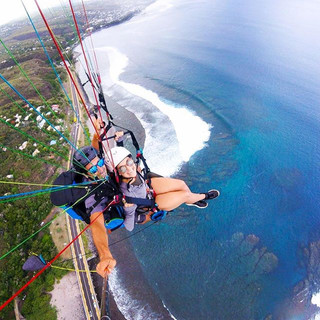 Paragliding in Reunion