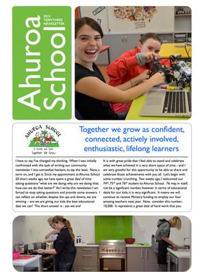 Term Three 2015 Newsletter
