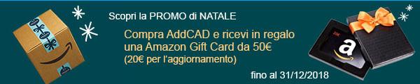 Scopri la promo di Natale per AddCAD attiva fino al 31/12/2018