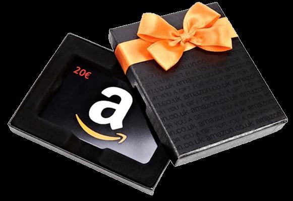 Amazon Gift Card del valore di 20€ per ogni acquisto