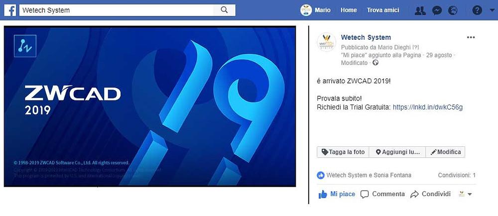 Clicca Mi Piace sulla nostra pagina Facebook: https://www.facebook.com/WetechSystem/