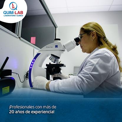 Microscopio laboratorio clínico examen medico