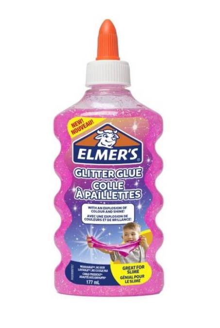 Elmer's colla glitter pink