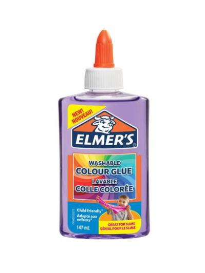 Elmer's colla trasparente viola