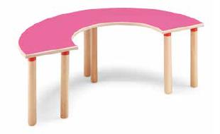 Tavolo semicircolare 128 cm