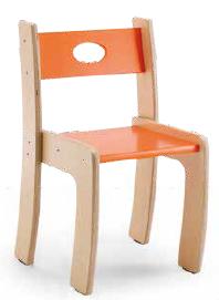 Sedia impilabile