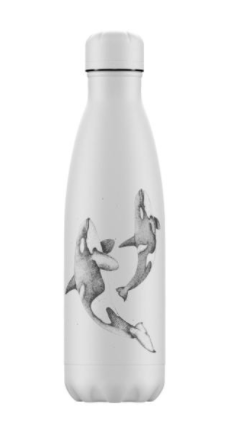 Chilly's bottiglia termica 500 ml Sea Life Orca
