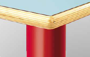Gambe in tubolare metallico