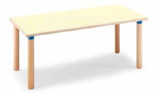 Tavolo rettangolare 128x64x53 cm