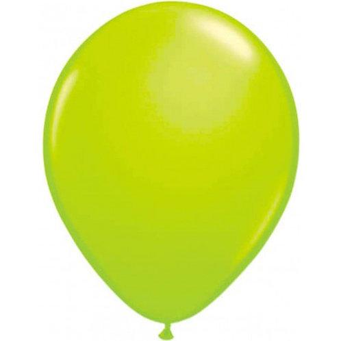 Palloncino neon verde 25 cm 8 Pz.