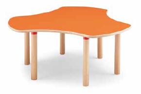 Tavolo trifoglio 128 cm