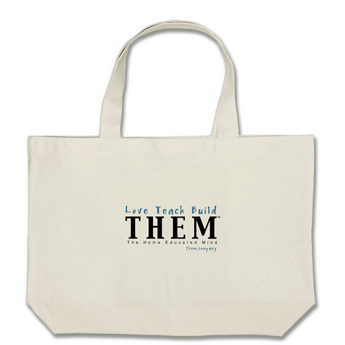 Love Teach Build THEM - Jumbo Tote Bag
