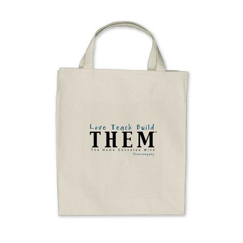 Love Teach Build THEM - Shopper Bag