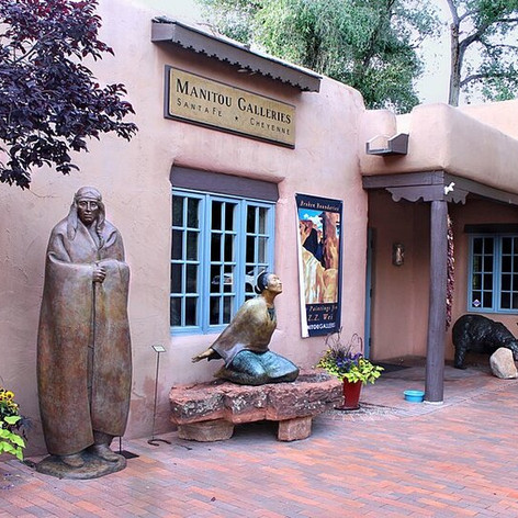 Manitou Galleries - Canyon Road