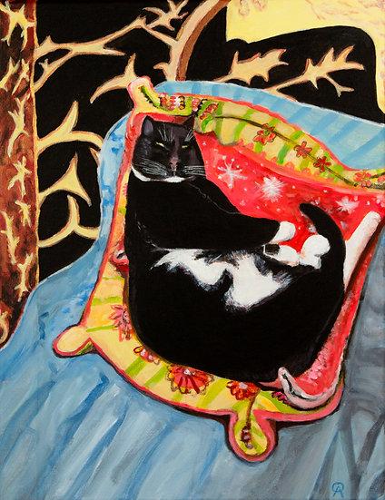 Feline Fantasy Archival Print