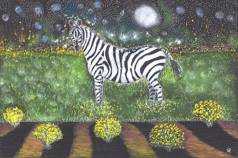 Dream of Zebra and Yellow Chimesa