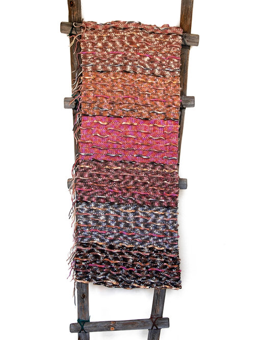 Southwest Sunset Wool Throw