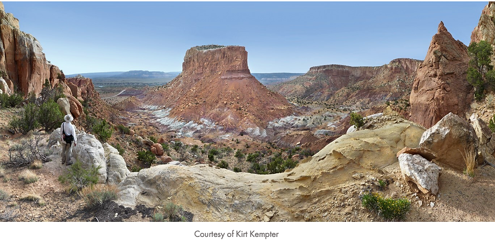 Breakfast with O'Keeffe Online: The Geologic Story of Abiquiu