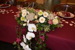 Montage table d'honneur
