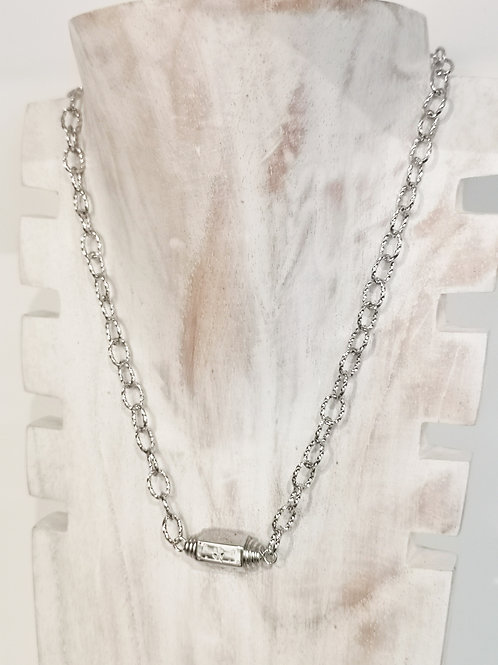 COLLIER TIMELESS LOVE ARGENT