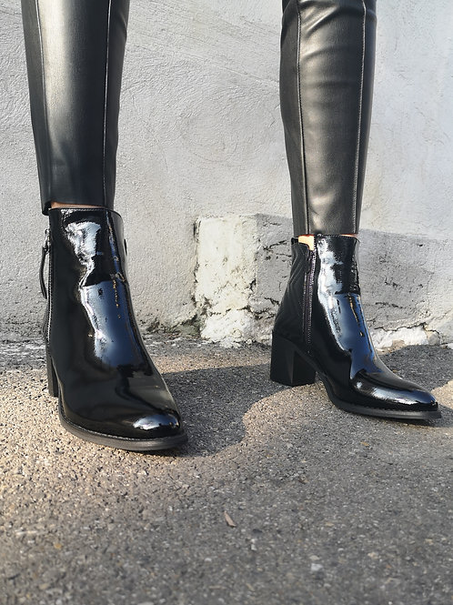 BOTTINES BLACK MIRROR