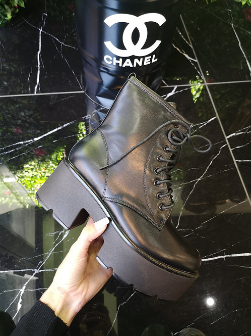 BOTTINES BLACK PLATFORM