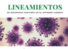 Lineamientos coronavirus