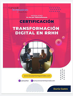 Transformación Digital RRHH