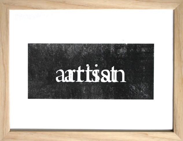 artist/artisan