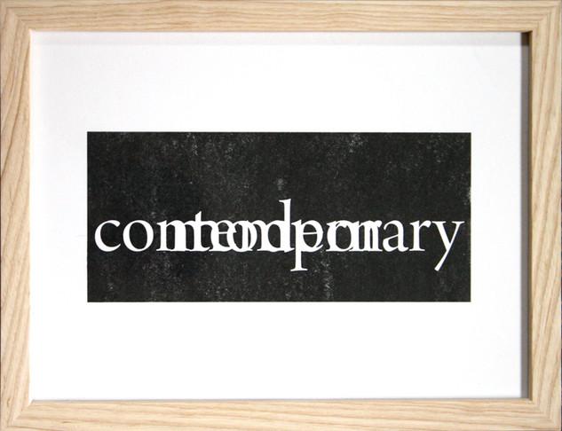 contemporary/modern
