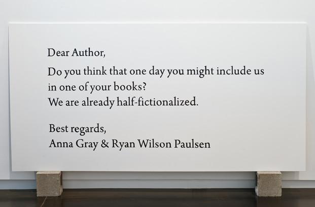 Dear Author...