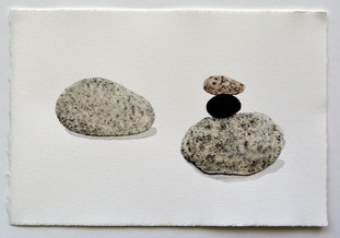 Stone with Small Cairn