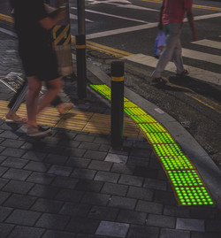 LED바닥신호등