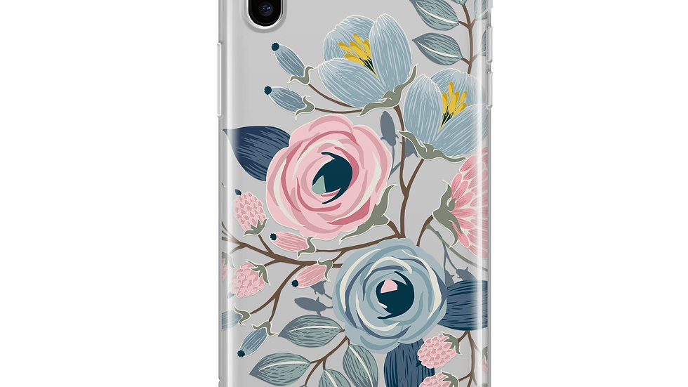 Indigo iPhone & Samsung Clear Phone Case Cover