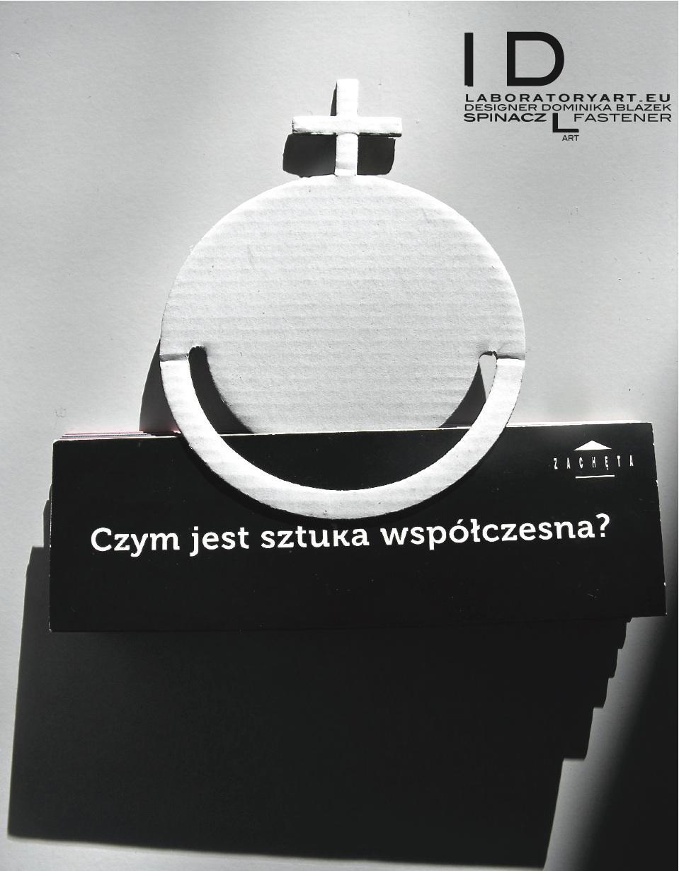 spinacz+LART++WHITE+-+fastener+LABORATORYART.EU