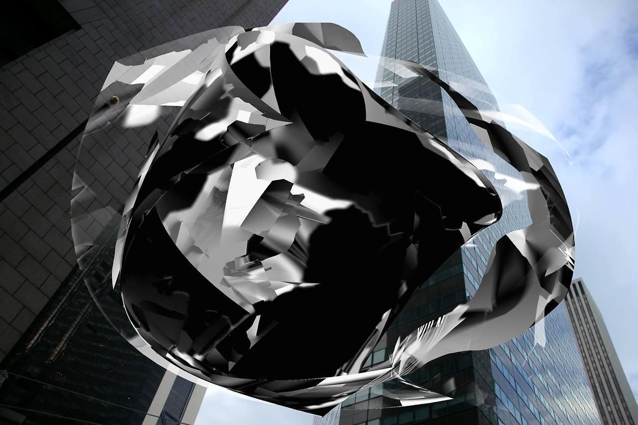 digital motion sculpture  by DARIA BLAZE