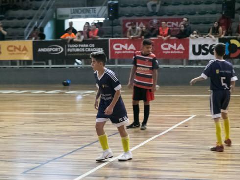 Campeões e Vice Campeões da 20ª Copa CNA de Futsal Escolar saíram neste domingo, dia 24 de junho, no