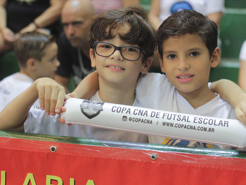 Neste ano, serão 22 colégios participantes na 22ª Copa CNA de Futsal Escolar