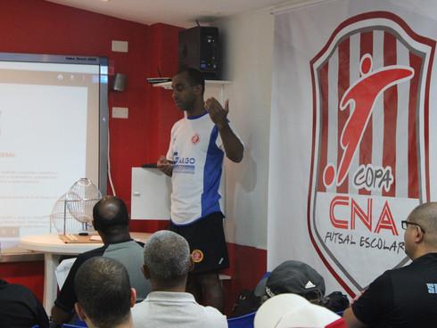 Congresso Técnico da 22ª Copa CNA de Futsal Escolar realizado via live do Facebook