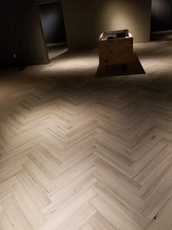 Herringbone LVP Floor Plank