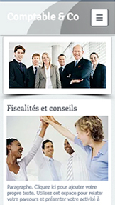Droit et Finance website templates – Comptables