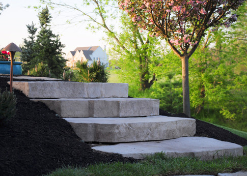 first state landscaping custom steps