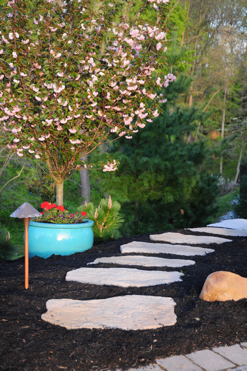 first state landscaping Techo-Bloc walkway