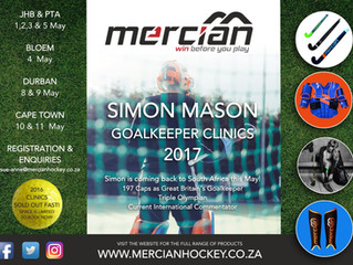 Simon Mason Goalkeeper Clinics 2017