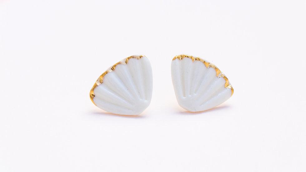 The Ariël Stud Earring Gold