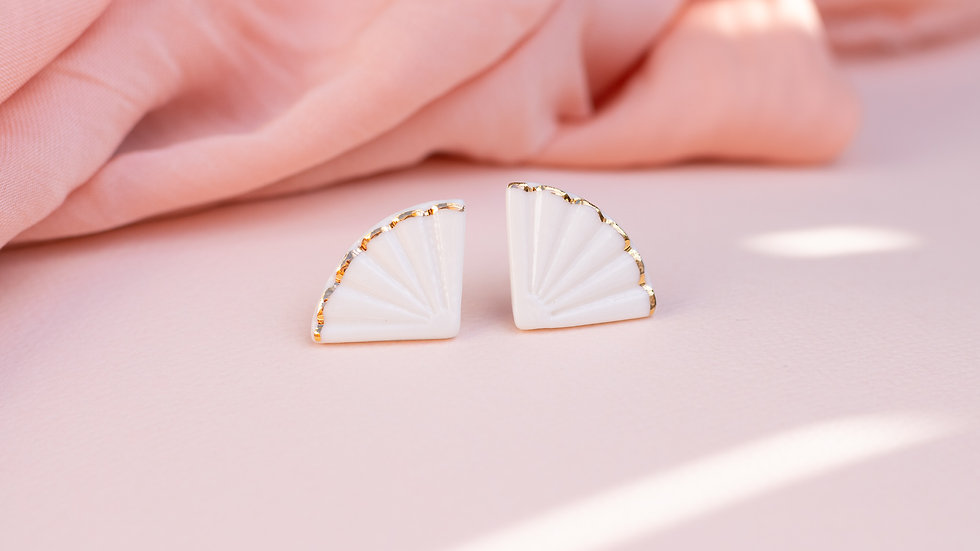 The Fan Stud Earring
