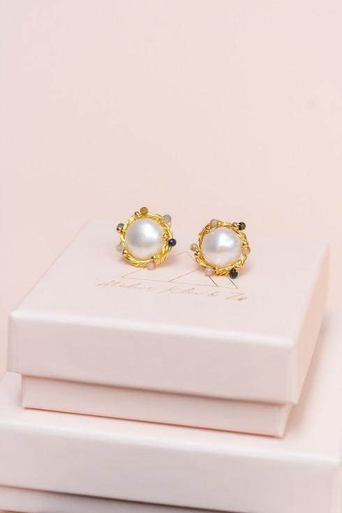 Tourmaline pearl