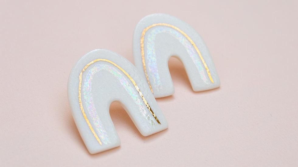 The Rainbow Stud Earring